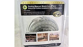 Amazon hampton bay 12 ft rope light kit home kitchen hampton bay 12 ft rope light kit aloadofball Image collections
