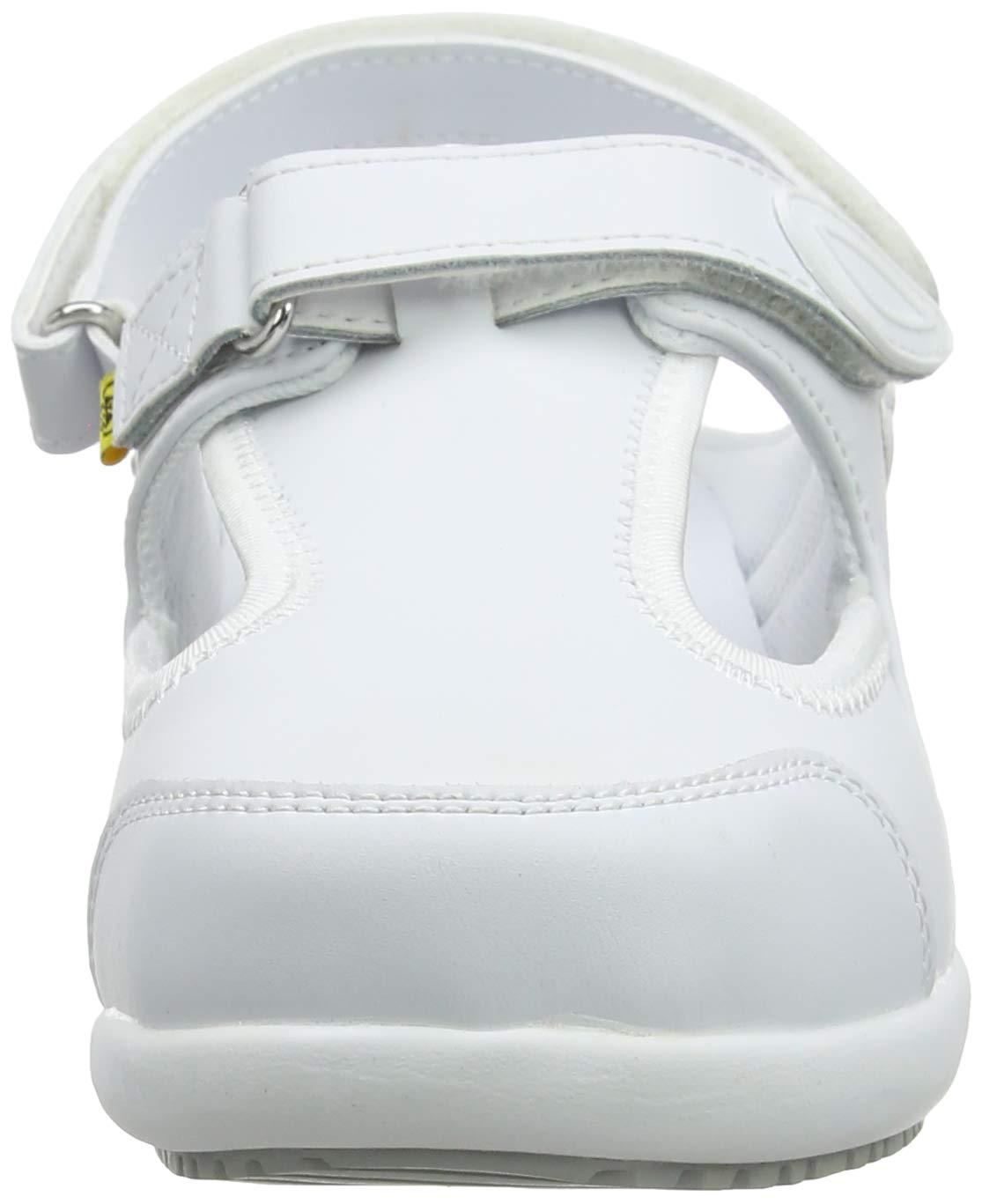 4 UK Fux White EU: 37 Oxypas Move Carin Slip-resistant Antistatic Nursing Shoes