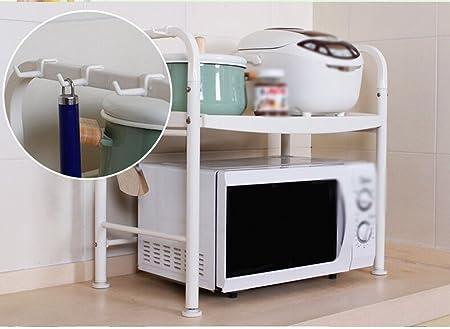 Muebles de cocina Cocina Horno de microondas Estante de rack ...