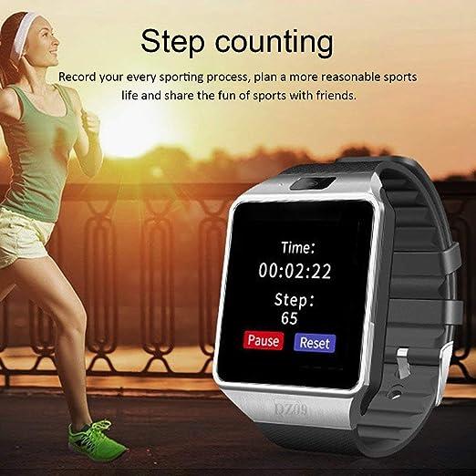 Funnyrunstore Smart Watch Dz09 Gold Silver Smartwatch Relojes para ...