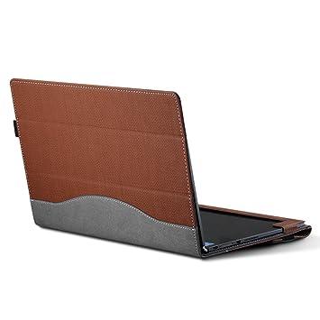 Lenovo Yoga 920/910 funda protectora caso de la cubierta del ordenador portátil funda para Lenovo Yoga 6 Pro / Yoga 5 Pro 13.9 pulgadas Brown: Amazon.es: ...