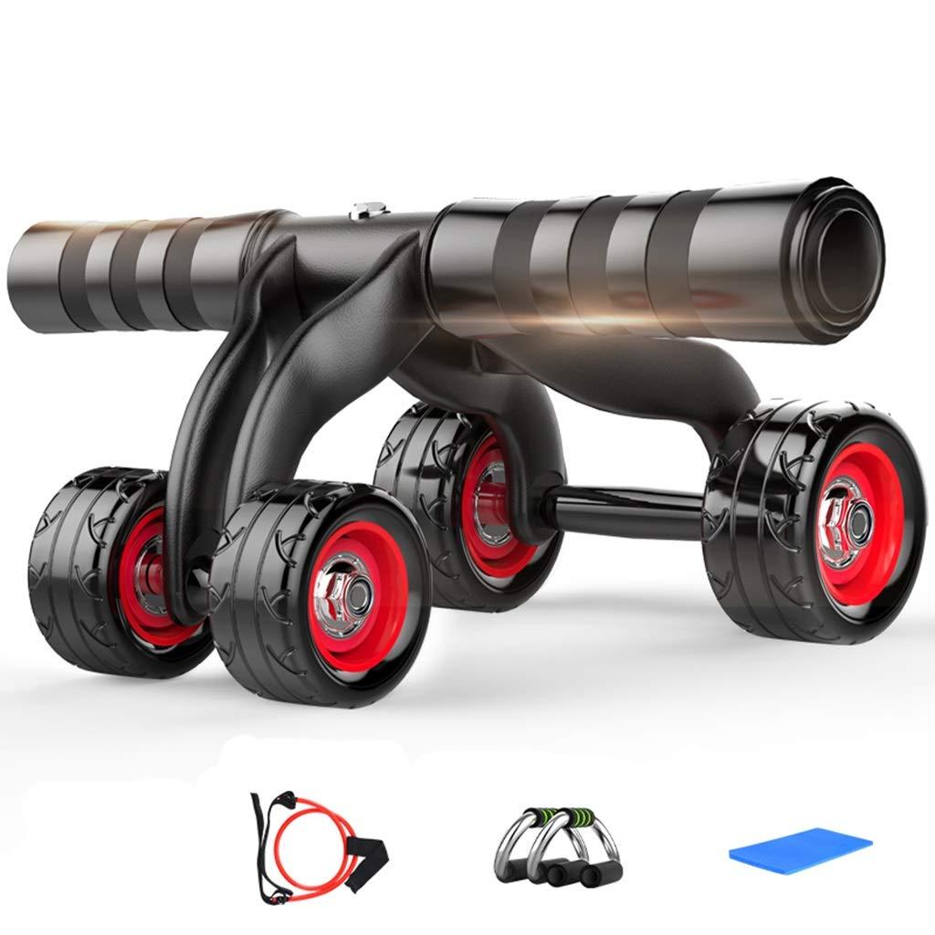 Abのローラー - 4つの車輪のAbのトレーナーの膝パッドのマット及びブレーキ版が付いている腹部体操の体操の家装置のための腹部体操の試し装置 B07NPNQJKZ (色 D) : D) D - B07NPNQJKZ, 子供服ベビー服通販 タンタン:467b7b83 --- sharoshka.org