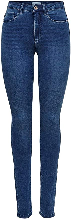 Only Onlroyal High Waist Skinny Jeans Vaqueros para Mujer