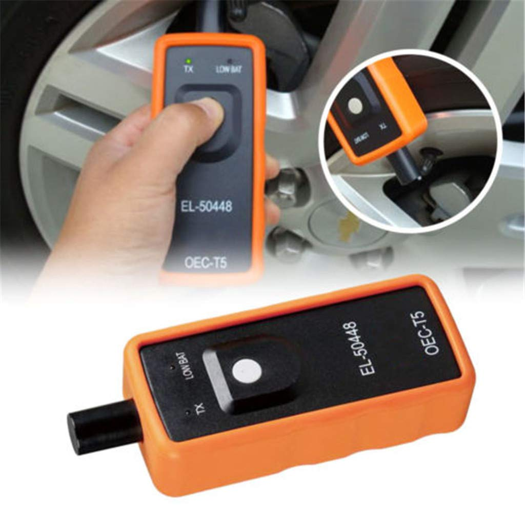 Car Scanner VITHCONL EL-50448 TPMS Auto Tire Pressure Monitor Sensor Reset Tool OEC-T5 Compatible with GM K6J0I