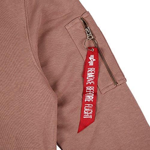 X Mauve Sweater Alpha fit Industries v8414fA