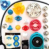 Beyblade Parts Randomized Variety Pack Lot Spin Tracks Tips Rings Face Bolts +