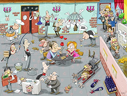 Valentine's Day Chaos 1000 Piece Jigsaw Puzzle