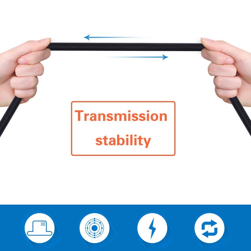 adaptateur dextension de diagnostic 16pin /à mini c/âble USB Qiilu 180cm voiture OBD-II OBD2 EOBD c/âble USB