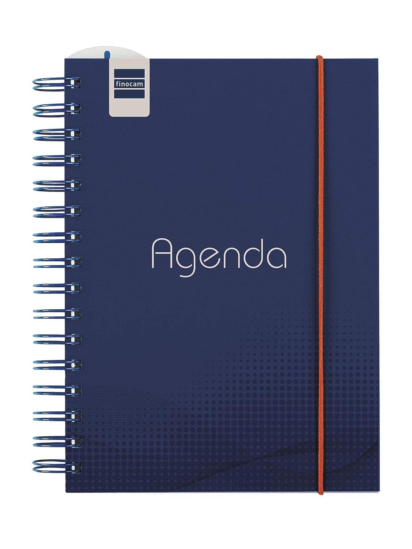 Finocam - Agenda 2019-2020 semana vista vertical catalán Institut Blue