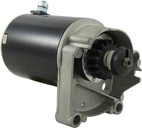 Details about  /Starter Motor Riding Mower Briggs Stratton V Twin MTD Craftsman 18-22Hp