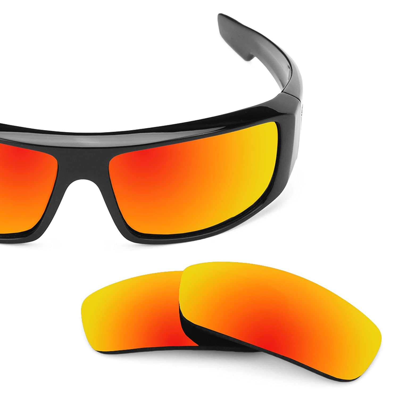 42aebc3871 Revant Polarized Replacement Lenses for Spy Optic Logan Black Chrome  MirrorShield® larger image