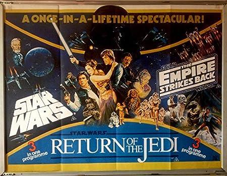 Cinema Poster: STAR WARS EMPIRE STRIKES BACK RETURN OF THE