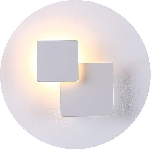 Topmo-plus 5W Lampada da parete Illuminazione Interna 360 gradi Regolabile  luce parete alluminio Wallspot Decorazione per Sala Scale Soggiorno ...
