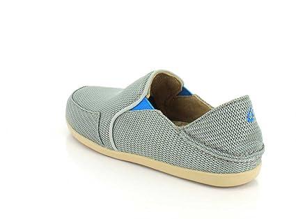 Waialua Mesh Schuhe - Frauen, Pale Grey/Tide Blue - Größe: 43 Olukai
