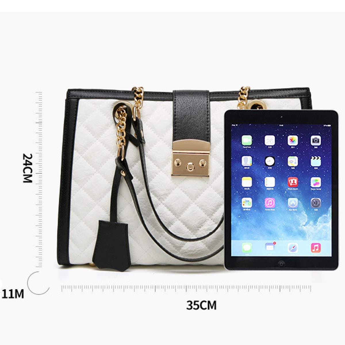 Sac /à bandouli/ère Lingge Chain Bag Sac /à bandouli/ère grande capacit/é Sac /à bandouli/ère Sac /à langer Rose, 35/×11/×24cm
