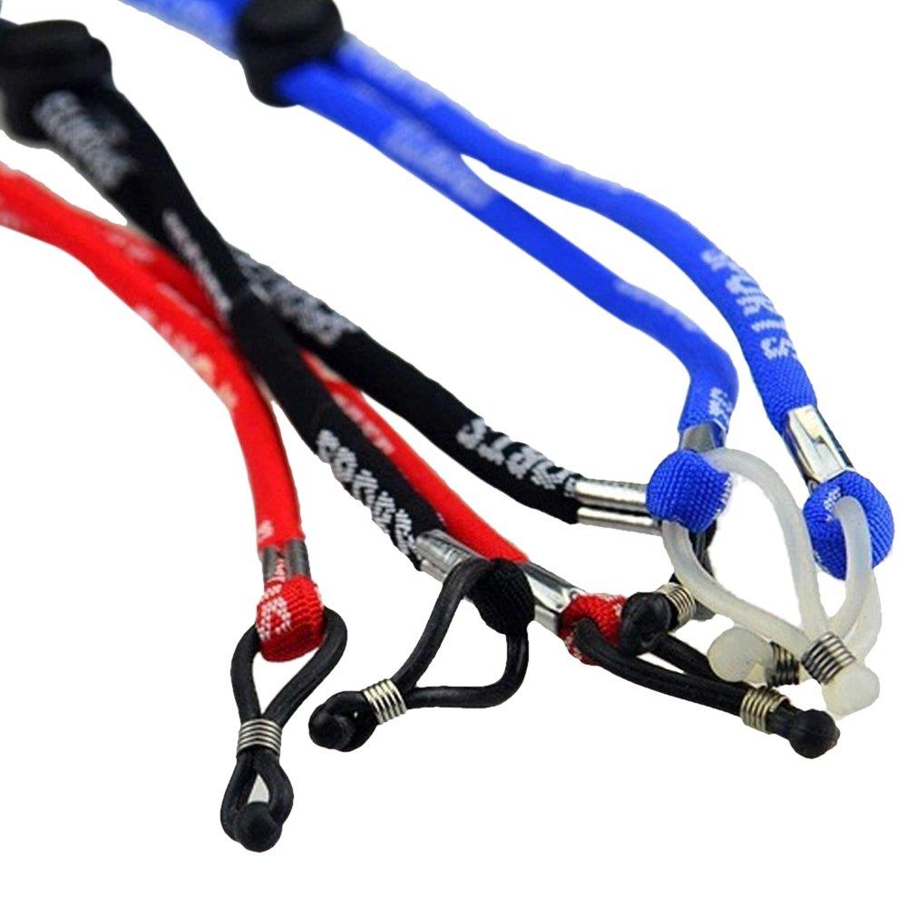CrzKo Verstellbare Brillenband Brillen Strap Neck Cord Sonnenbrille Halter Armband f/ür Sportbrillen und Lesbrille Halter Armband f/ür Sportbrillen und Lesebrillen Sports Brillenband Brillenkordel 4PC