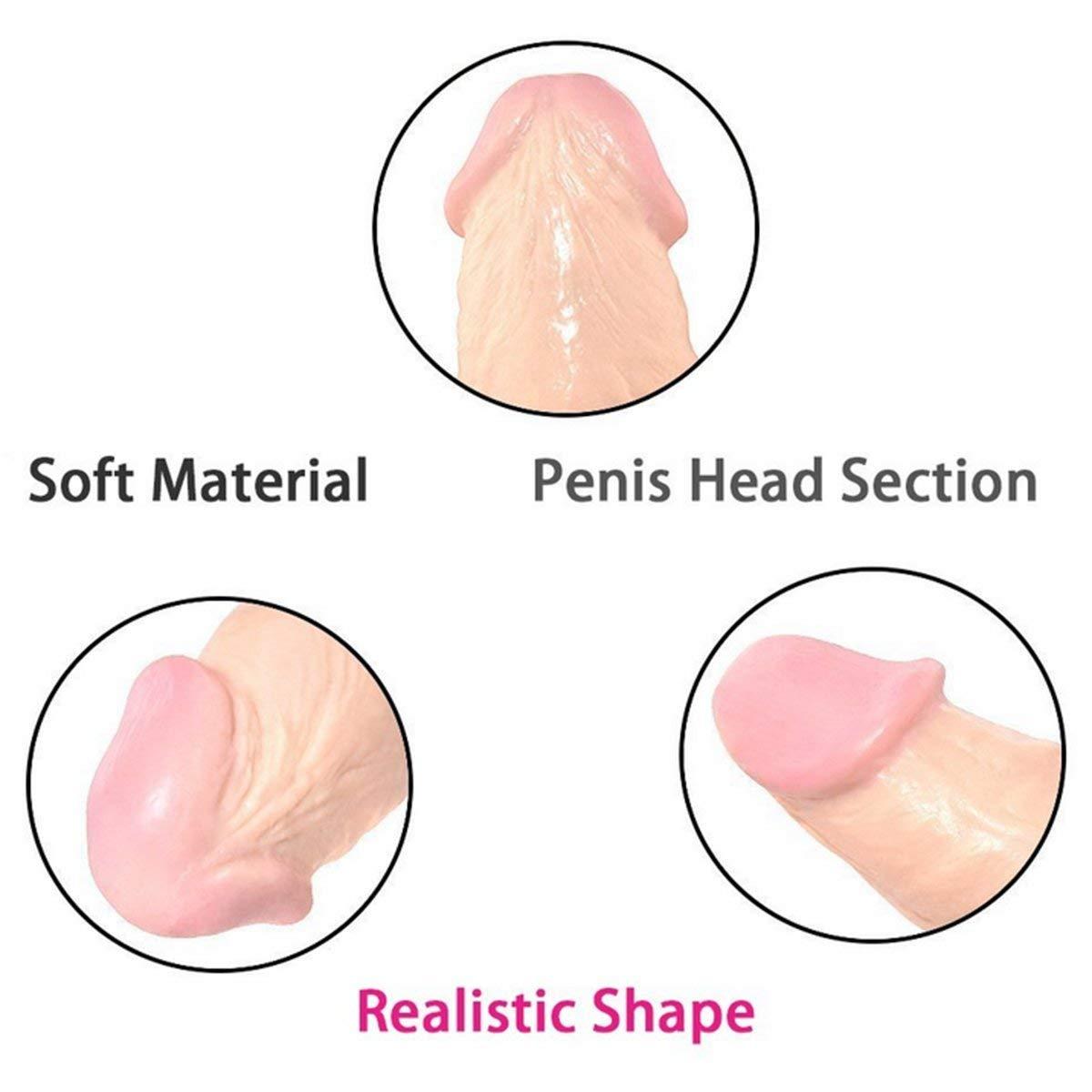 LINGXU 12 Pulgadas Grandes consoladores succión realistas Extrema succión consoladores Ventosa Ventosa para Juguetes sexuales de Las Mujeres 0fa82a