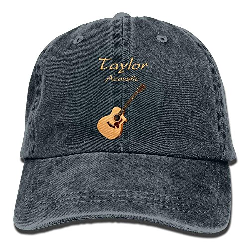 TOGEFRIEND Taylor Acoustic Guitars Denim Hat Adjustable Women's Stretch Baseball Caps