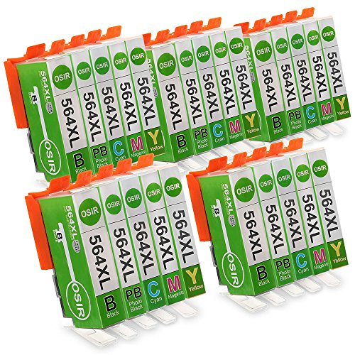 OSIR 5 Set Compatible Ink Cartridges Replacement for 564 ...