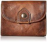 FRYE Women's Melissa Medium Wallet, Dark Brown, One Size