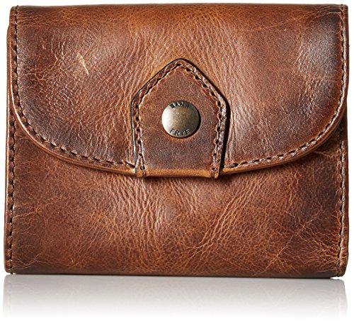 Melissa Medium Wallet Wallet, DARK BROWN, One Size by FRYE