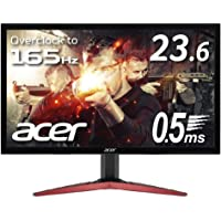 Acer ゲーミングディスプレイ KG241QSbmiipx 23.6型ワイド TN 非光沢 1920×1080 フルHD 300cd 0.5ms AMD RADEAON FreeSync