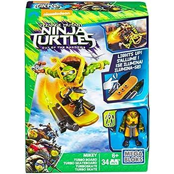 Amazon.com: Mega Bloks Teenange Mutant Ninja Turtles: Out of ...