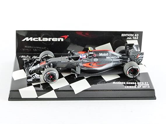 Amazon.com: McLaren Honda Jenson botón 2016: Minichamps ...