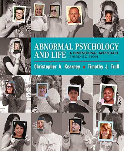 1337098108 - Abnormal Psychology and Life: A Dimensional Approach