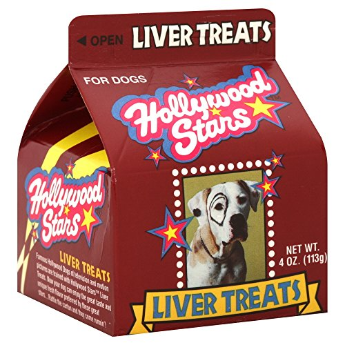 Jrb Foods Inc Pet, Treats, Liver, 4-Ounce (Pack Of 8)