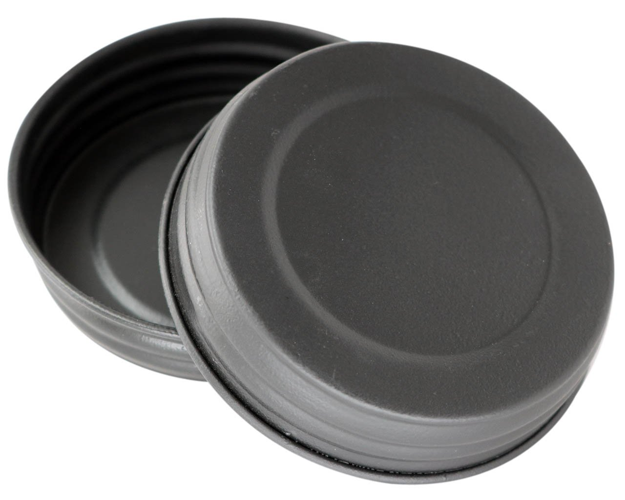 Black Vintage Reproduction Lids for Mason, Ball, Canning Jars, (4 Pack, Wide Mouth)