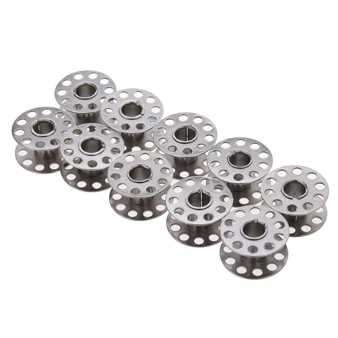 Naisi 15 Piezas de Bobina Canilla Metal de Máquina Costura Accesorios de Coser Manualidades Compartible con Varias Máquinas: Amazon.es: Hogar