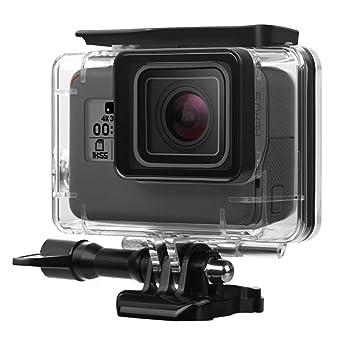 Funda resistente al agua para GoPro Hero 5/6, jemache 45 m ...