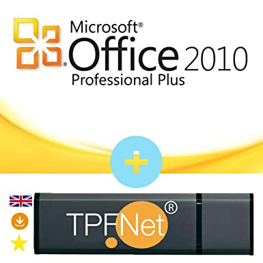 MS Office 2010 Professional Plus 32 Bit & 64 Bit - Original