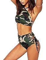 Women's Hot Sexy Camouflage Bikini Sets Beach Swimsuits