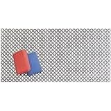 MetroDecor mDesign Tappetino AntiGraffio per la Protezione del lavandino – Tappetino scolapiatti Extra Large in PVC – Tappeto Protettivo per lavello dal Design a griglia – Grigio Ardesia