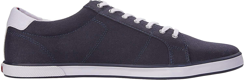 Tommy Hilfiger H2285arlow 1d, Sneaker Basses Homme Bleu