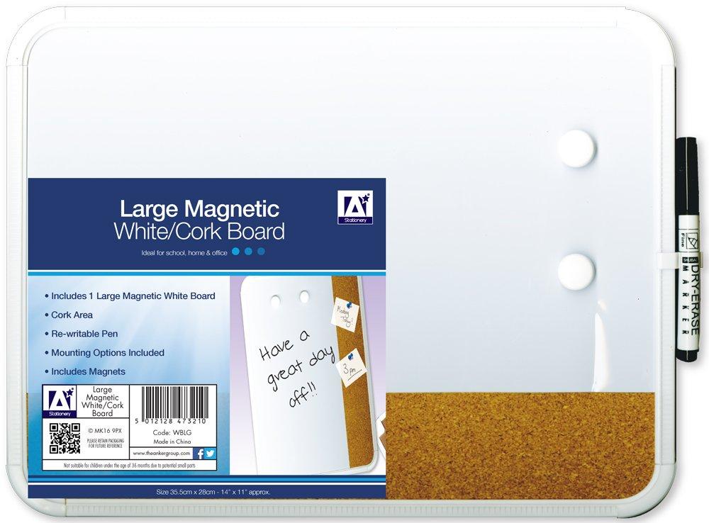 Anker Stationäre Magnetische White Board, Kunststoff, mehrfarbig ...