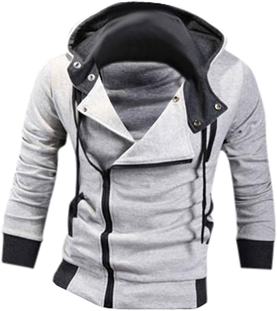 Jeansian Hombres Sudaderas con Capucha Outwear Tapas Men's Casual Hooded Sweatshirts Outwear Tops 8945