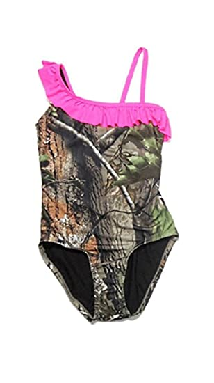 cc6e50c0be Amazon.com: Real Tree Girls' One Piece Swimsuit (4/5): Clothing
