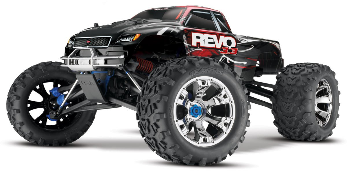 amazon com traxxas rtr 1 10 monster revo 3 3 4wd monster truck Traxxas Revo 3 3 Wiring Diagram amazon com traxxas rtr 1 10 monster revo 3 3 4wd monster truck 2 4ghz (colors may vary) toys & games traxxas revo 3.3 wiring diagram
