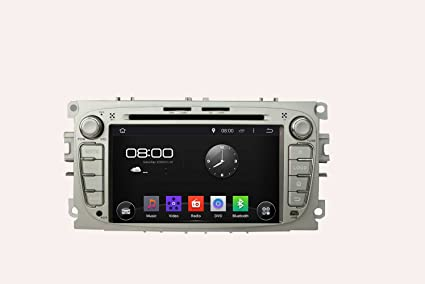 7 inch Quad Core 1024 * 600 Android 5.1 coche reproductor de DVD GPS navegación Multimedia