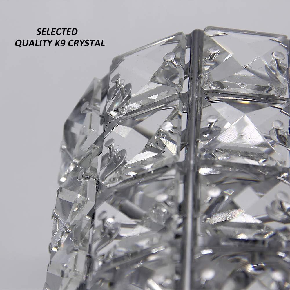 VINCIGANT Handcrafted Crystal Makeup Brush Organizador Organizador Personalizado para la vanidad Escritorio de Oficina ba/ño Dormitorio