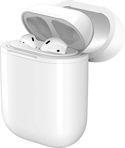 new style 1eb0d f16b6 SERSELL.USA Wireless Charging AirPods Case - Protective Charger Case for  AirPods - Compatible with AirPods -Compatible with All Qi Wireless Charger  ...