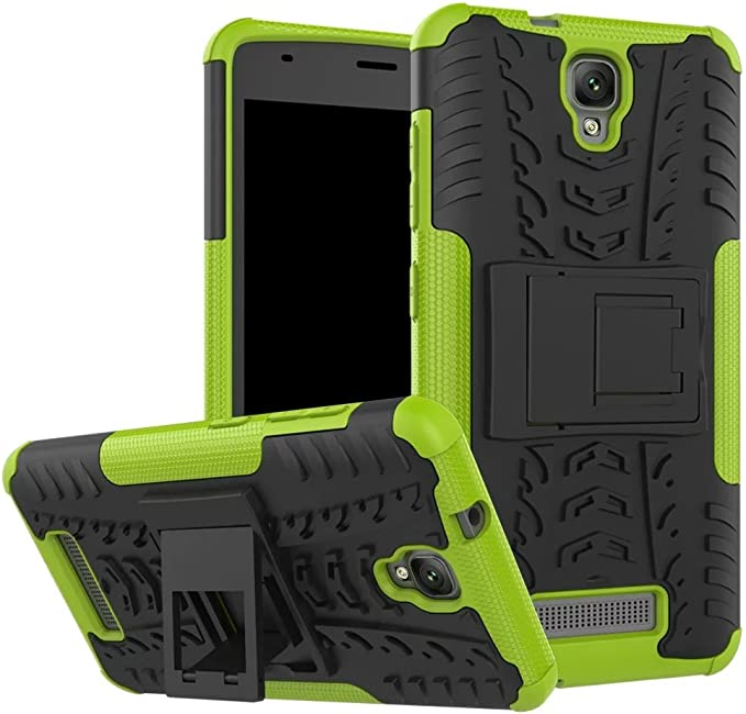 SMTR ZTE Blade L5 Plus Funda, [Heavy Duty] Híbrida Rugged Armor ...