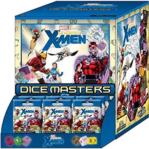 Marvel Dice Masters: The Uncanny X-Men Dice Building Game 90 Count Gravity Feed by WizKids