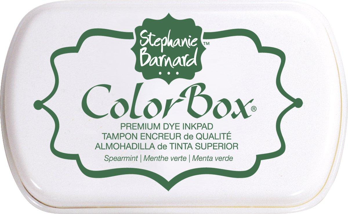 ColorBox Premium Dye Ink Pad By Stephanie Barnard-Spearmint (並行輸入品) B005JJ6QAA