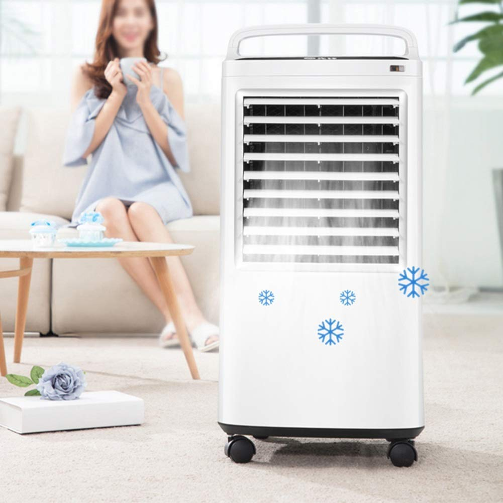 Desktop Fan Home Fan Mobile Air Conditioners Air Cooler Air Conditioner Fan Evaporative Humidifier Air Purifier Air Freshener Household Small-scale Mobile Soft Wind Table Desk Fan for Home and Travel by Gelaiken (Image #3)