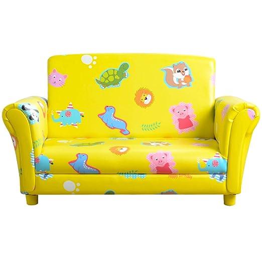 Sofá tapizado clásico para niños y sofá de Dos plazas para ...