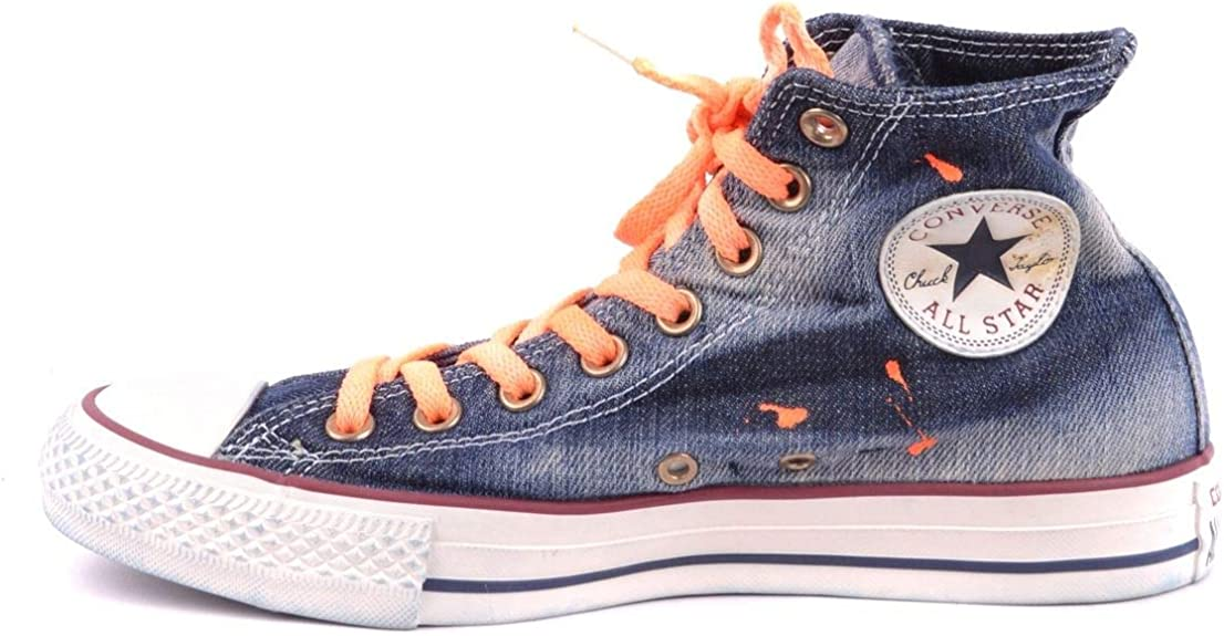 Converse Luxury Fashion Femme MCBI34249 Bleu Baskets